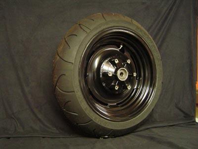 Rear wheel Deget included tyre