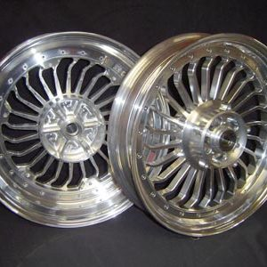 Set of wheels Turbine look 1700 or 1200