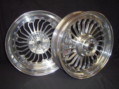 Set of wheels Turbine look 1700 or 1200