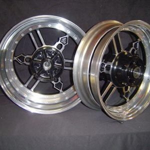 Set of wheels Yamaha logo 1200 or 1700