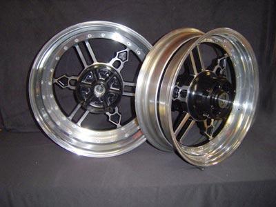 Set of wheels Yamaha logo 1200 or 1700