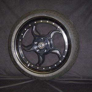 Rear wheel 5 spoke black
