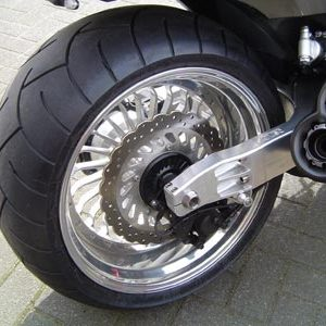 Swingarm 280-300 + Rear wheel at choice