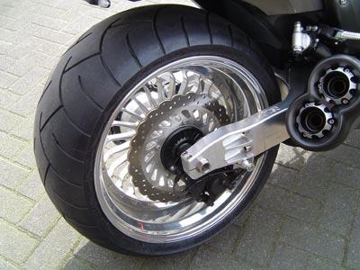 Swingarm 280-300 + Rear wheel at choice