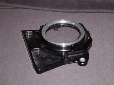 Shaft drive linkage cover black/silver open