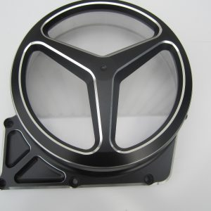 Clutch Cover Brabus Bi-Color black/silver