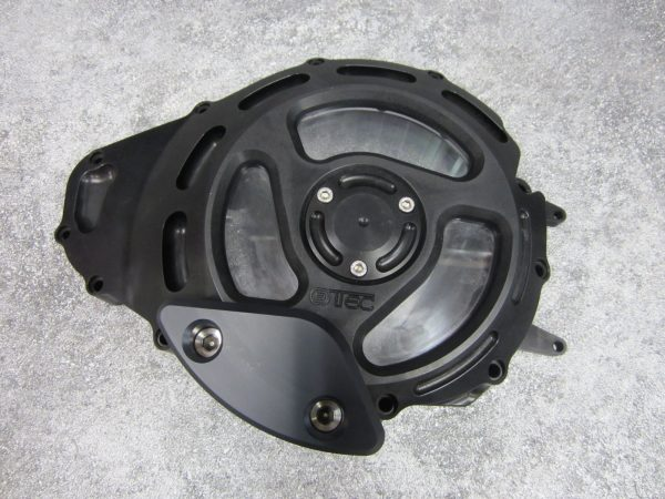Alternator cover black look through 1700