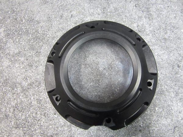 Shaft drive linkage cover black look through 1700
