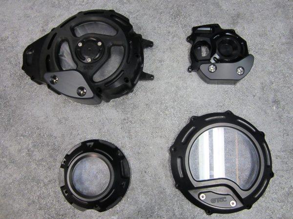 Engine lid kit black look through 1700