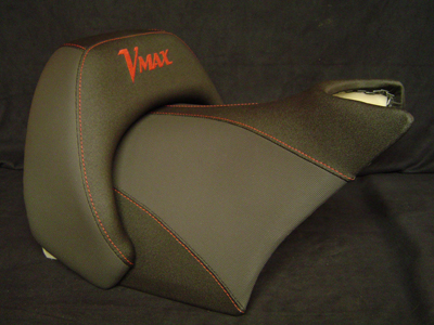 Seat with text Vmax